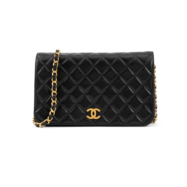 Second Hand Chanel Medium Full Flap Bag