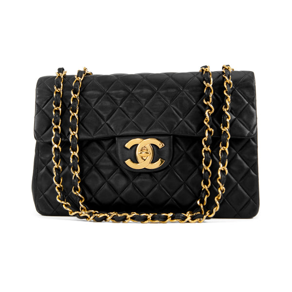 Vintage Chanel XL Jumbo Flap Bag