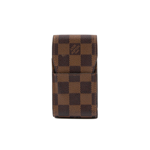 LOUIS VUITTON Damier Ebene Cigarette Case