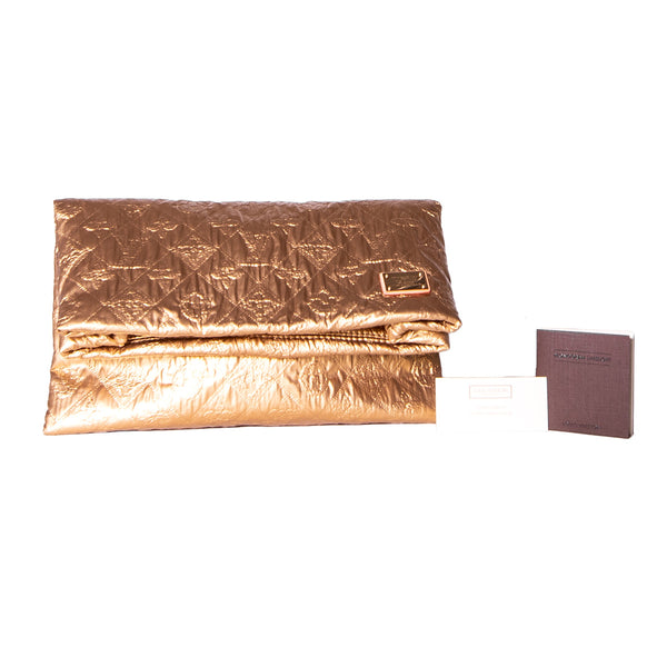 LOUIS VUITTON Limited Edition Gold Monogram Limelight PM Clutch