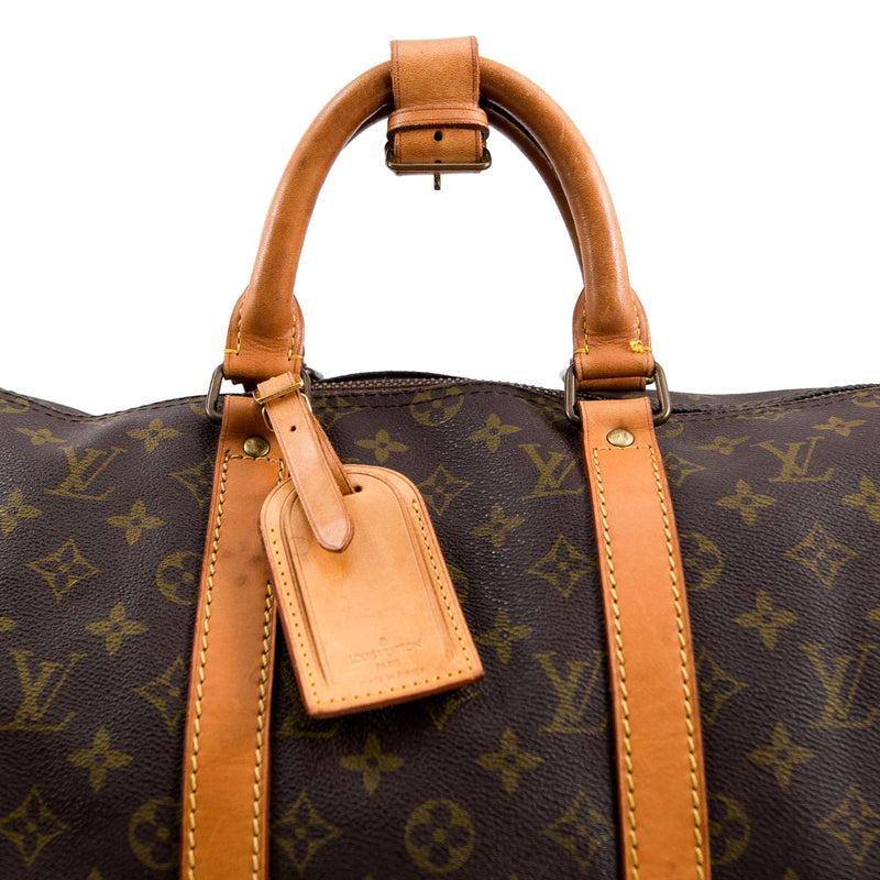LOUIS VUITTON Monogram Canvas Keepall 50 Bag