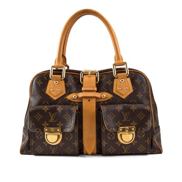 LOUIS VUITTON Monogram Canvas Manhattan GM Bag