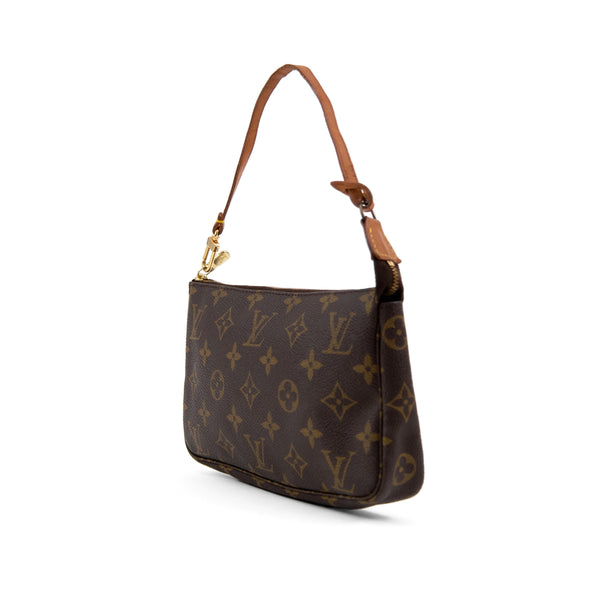 LOUIS VUITTON Monogram Canvas Pochette Accessoires Bag