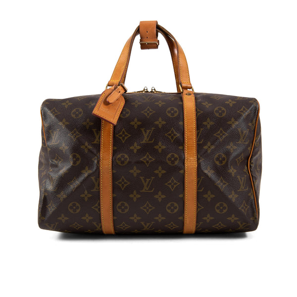 LOUIS VUITTON Monogram Canvas Sac Souple 35 Bag