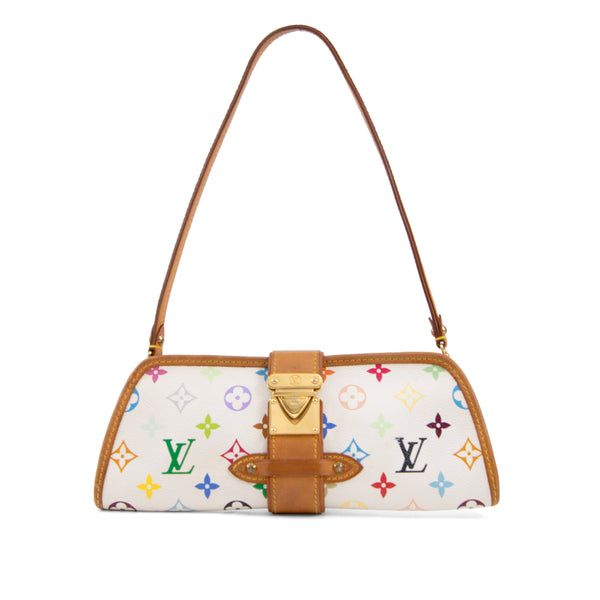 LOUIS VUITTON Multicolour Monogram Canvas Shirley Clutch Bag