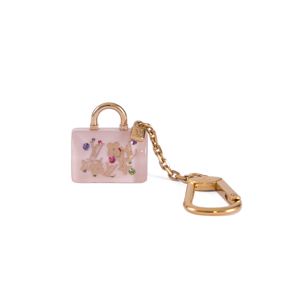 LOUIS VUITTON Monogram Inclusion Speedy Keyring