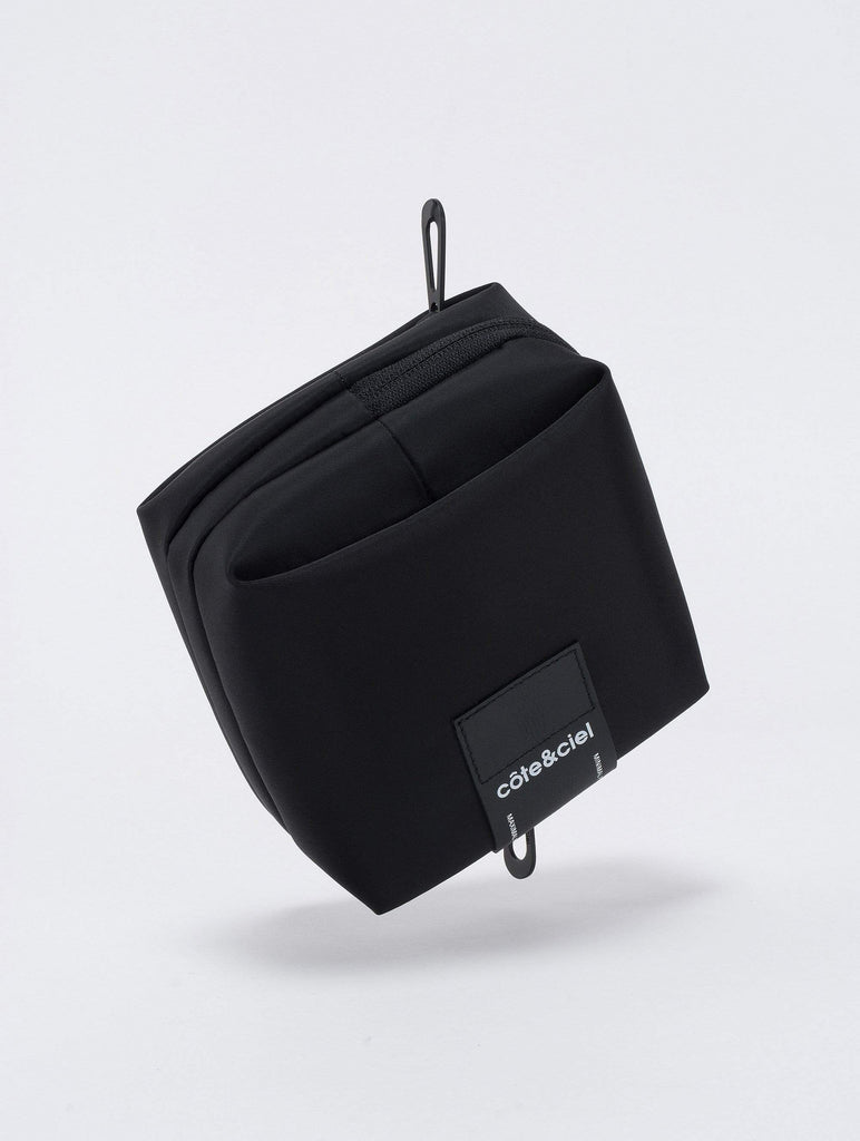 coteetciel Small/Pouch Kub Sleek Black côte&ciel US 28906
