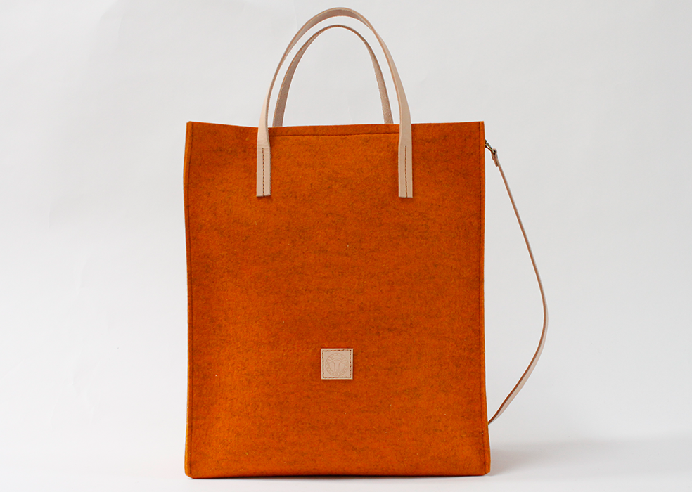 burnt orange ONON tote