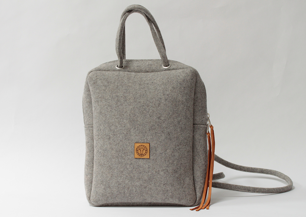 grey GOBI backpack