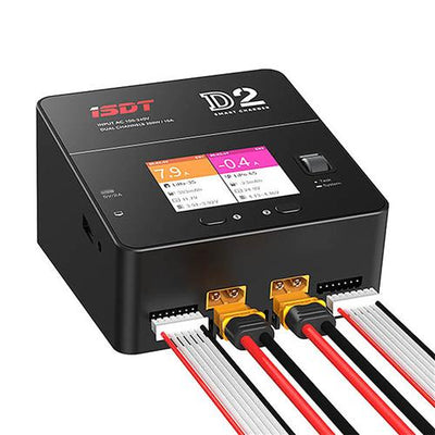 iSDT D2 200w Dual Output Smart Charger