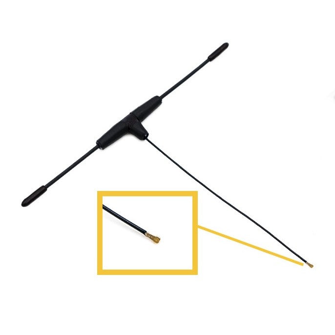 FrSky 900MHz Ipex4 Dipole T Antenna for R9 Mini / R9 MM Receiver - FCC version