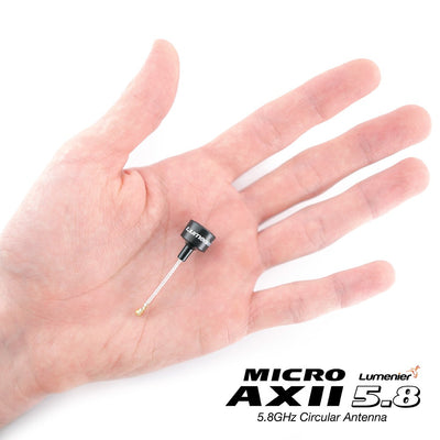 Lumenier Micro AXII Shorty  5.8GHz Antenna - RHCP - MMCX