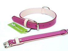 Load image into Gallery viewer, Pink Fusion Leather Collar & Lead - Can Buy Individually
