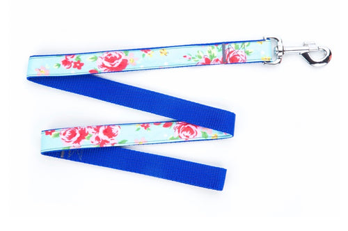 Blue Vintage Dog Lead