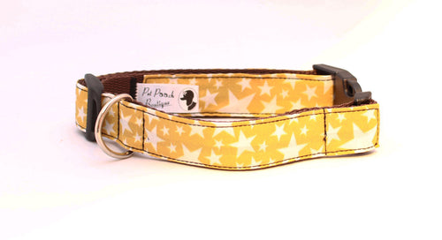 Mustard Yellow Stars Collar