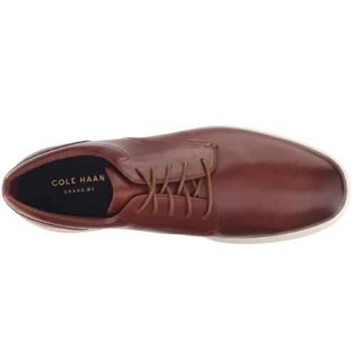 Cole Haan Men's Grand Tour Plain Ox Oxford Flat Men - Woodbury Leather/Ivory / 42.5 - Shoes