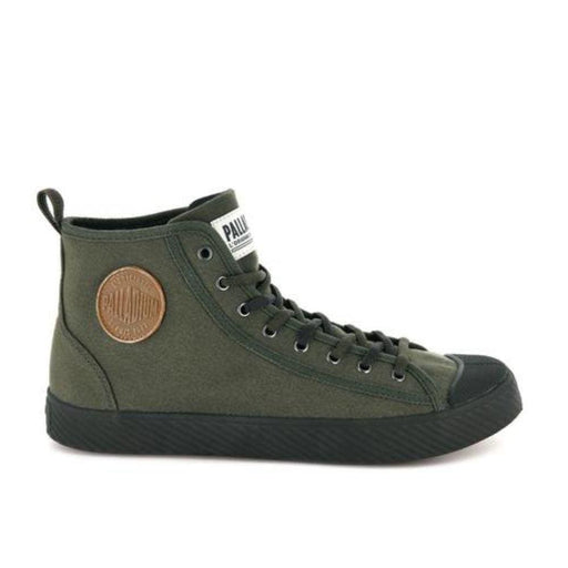 PALLADIUM Pallaphoenix MID Canvas Men 75956-327 - Olive / 40 - Shoes