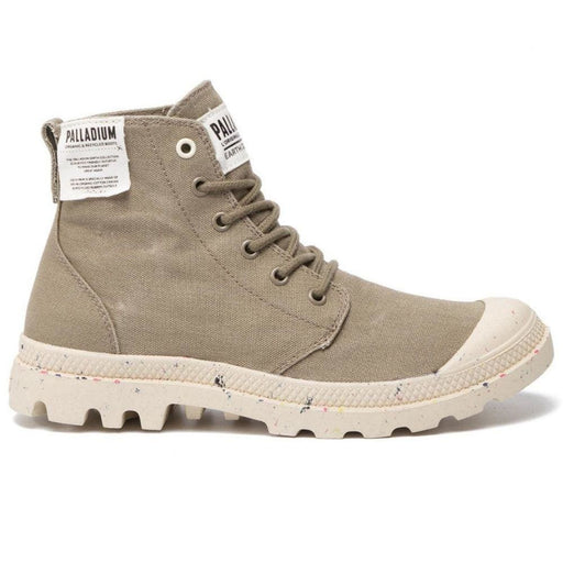 PALLADIUM Pampa Hi Organic Unisex 06199-377 - Green / 36 - Shoes