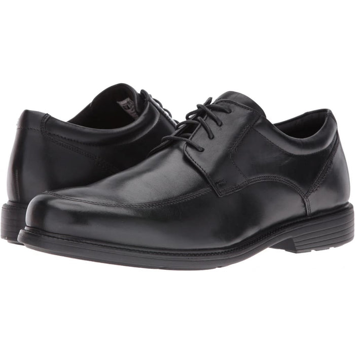 Rockport Charles Road Apron Toe Oxford - Black Leather / W (EE) / 6.5 - Shoes