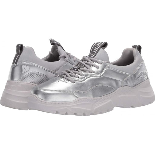 SKECHERS Street B-Rad - The Biz - Silver / M / 5 - Shoes