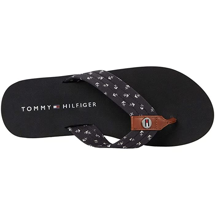 Tommy Hilfiger Crems Woman - BLack Multi Fabric / 38.5 - Shoes