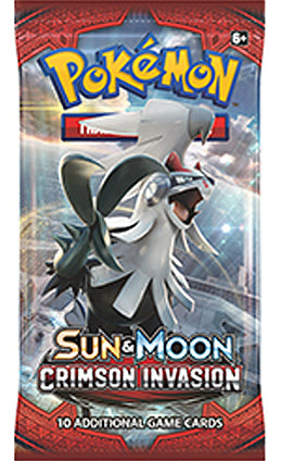 Pokemon - TCG - Crimson Invasion Booster Pack