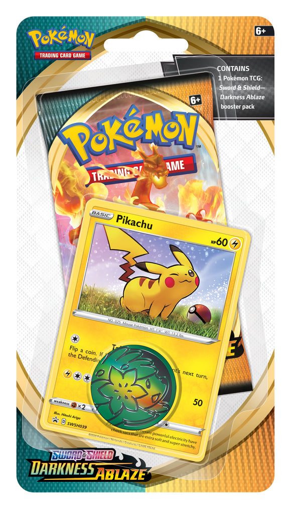 Pokemon - TCG - Darkness Ablaze - Checklane Blister