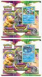 Pokemon - TCG - Sword & Shield - Vivid Voltage - Three Booster Blister