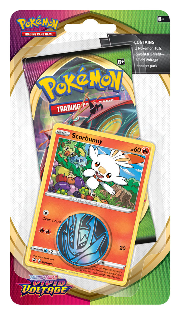 Pokemon - TCG - Sword & Shield - Vivid Voltage - Checklane Blister