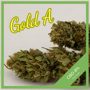 Auratura CBD Blüten GoldA made in Austria