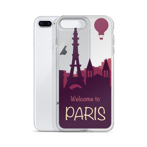 Welcome to Paris iPhone Case