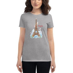 Eiffel Tower Women's short sleeve t-shirt