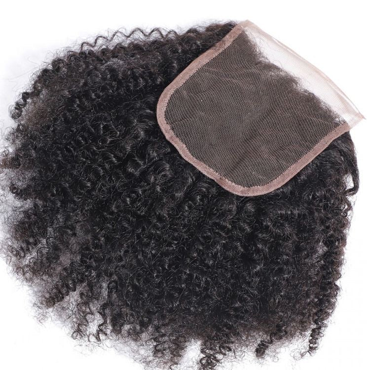 Kinky Curly Closure Bundle