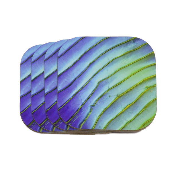 Aquamarine Coasters 4-Pack - NEW!