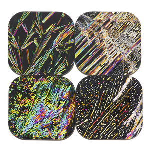 Dazzle Coasters 4-Pack - NEW!