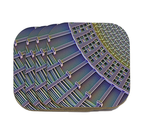 Electrostatic Sail Coasters 4-Pack