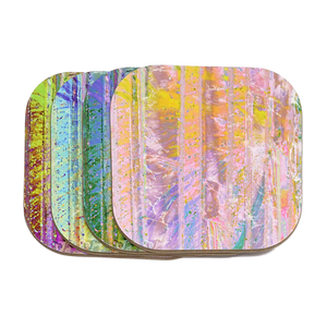Kaleidoscope Coasters 4-Pack - NEW!