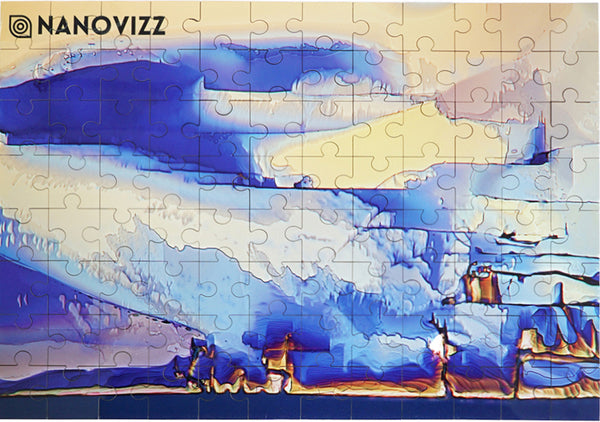 Blue Beyond Jigsaw Puzzle & Tin