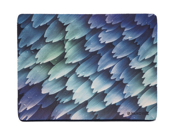 Mouse mat featuring Scales on the wing of a butterfly. Imaged with scanning electron microscopy (SEM). Credit: Kenneth Bart, Visuals Unlimited Inc/SPL