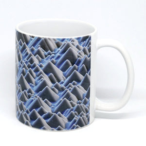 Cool Azure Ceramic Mug - NEW!