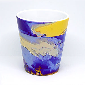 Blue Beyond Latte Mug