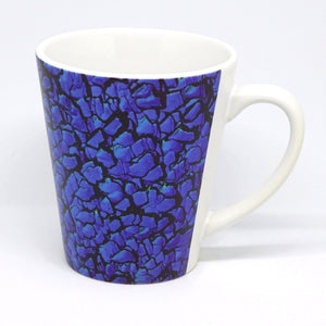 Electric Blue Latte Mug