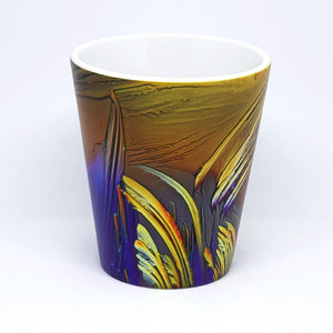 Golden Dusk Latte Mug