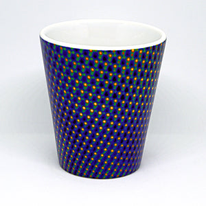 Midnight Matrix Latte Mug