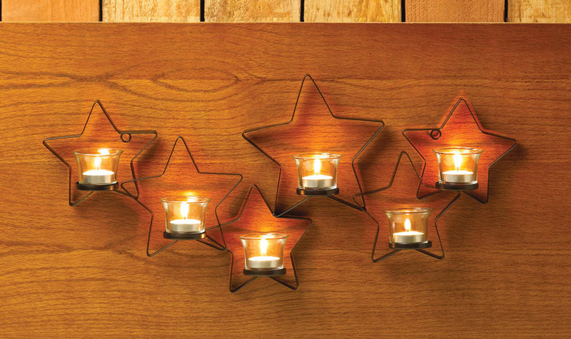 Starlight Candle Wall Sconce - InStyle Walls LLC