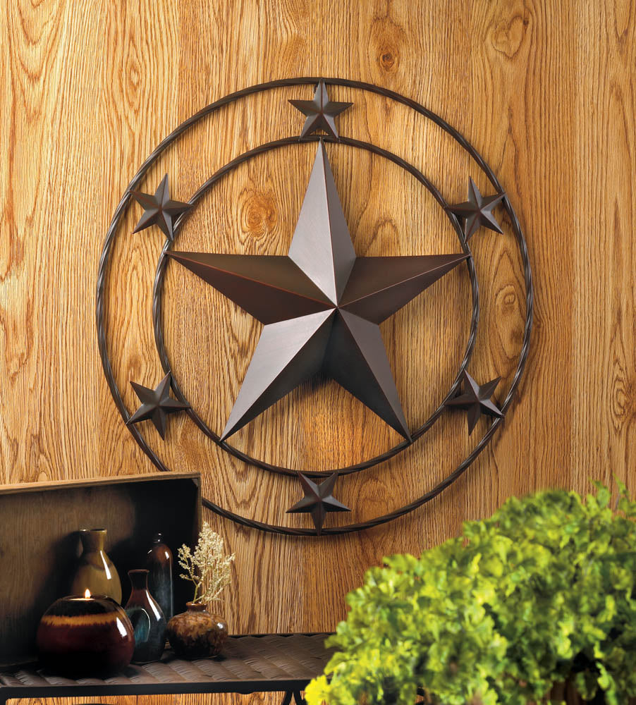 Galvanized Star Wall Decor - InStyle Walls LLC