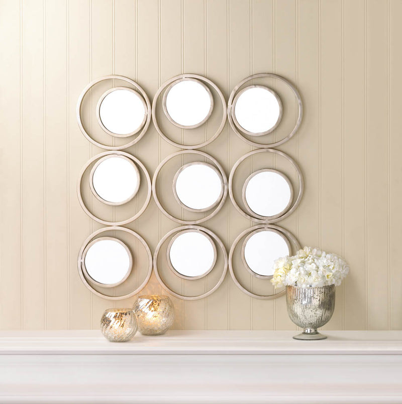 Revolution Wall Mirror - InStyle Walls LLC