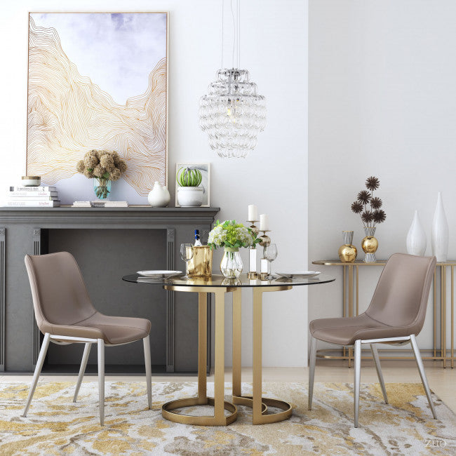 Gentle Canvas White & Gold - InStyle Walls LLC
