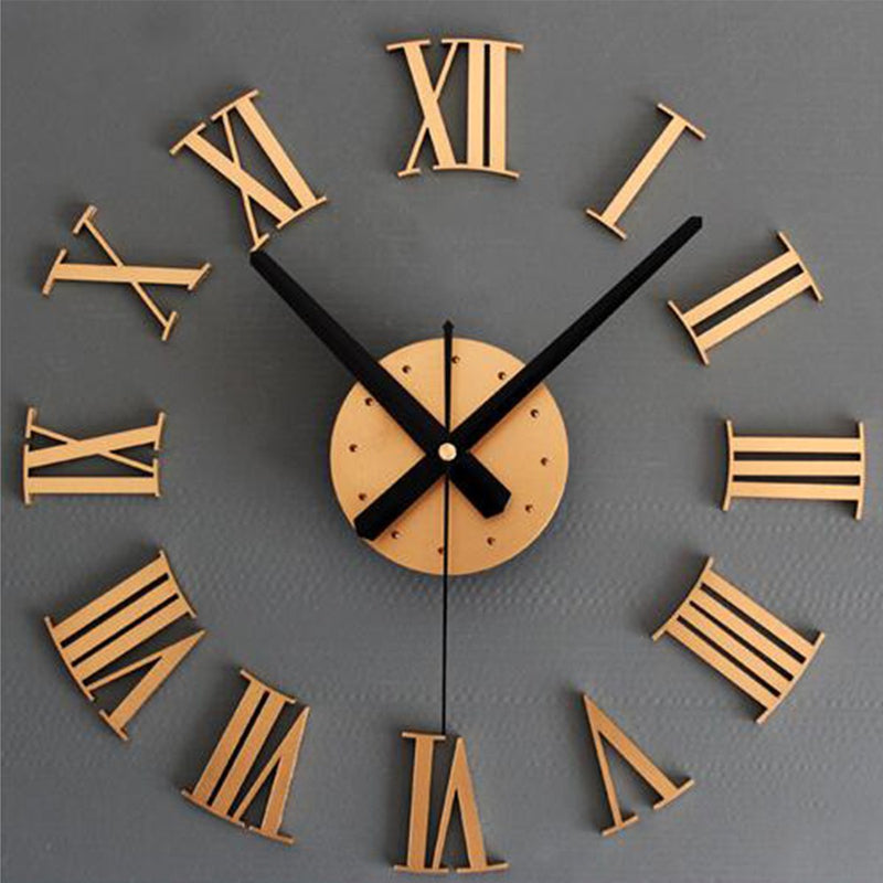 Vintage Style Double Sided Wall Clock