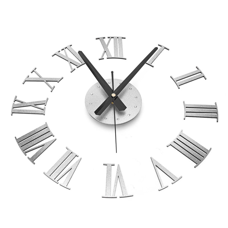 Large Wall Clock Mirror Surface - InStyle Walls LLC